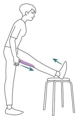 Etirer ses jambes sciatique