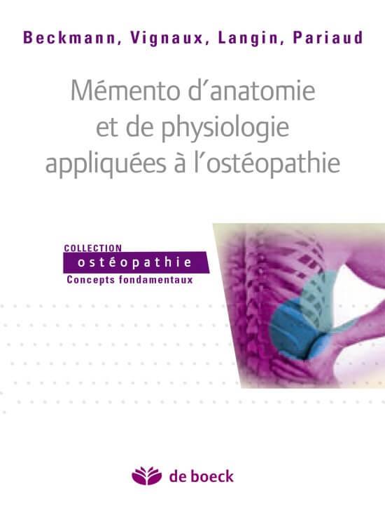 Mémento pour l'ostéopathe