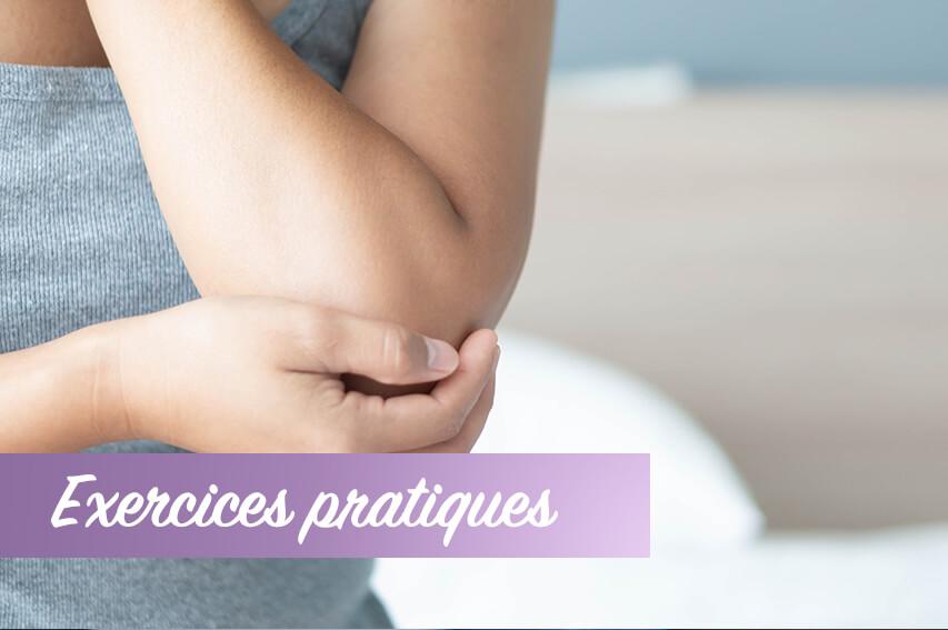 Exercices douleurs de coude