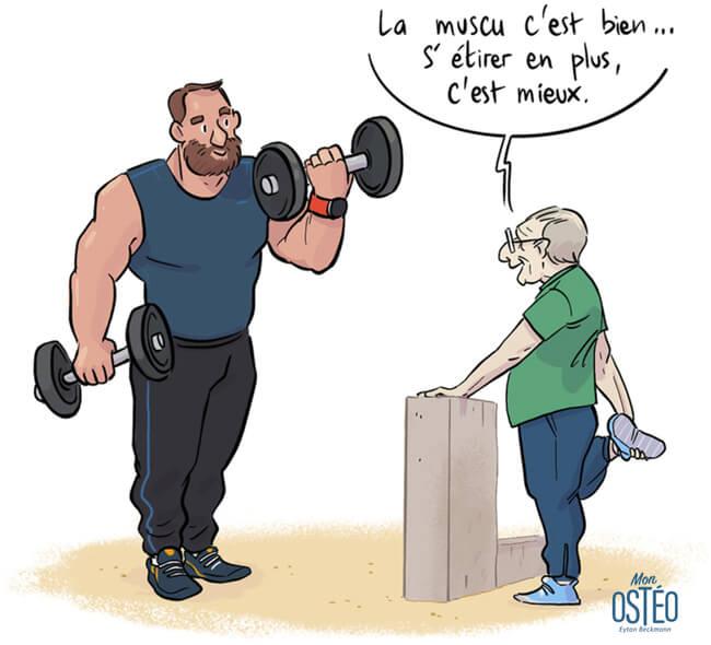 Etirement muscu osteo
