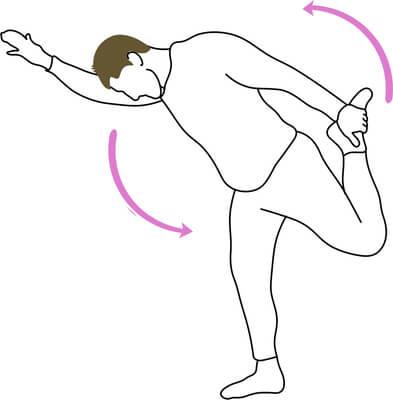 Echauffements quadriceps