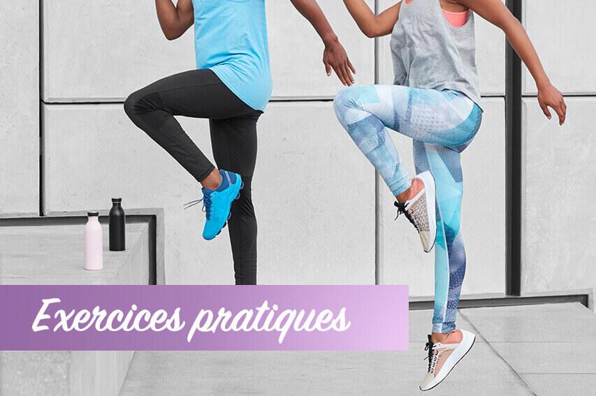 Exercices pratiques sd fémoro patellaire