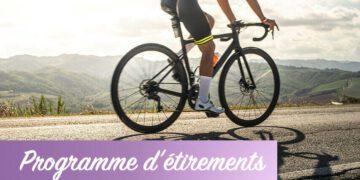 Etirements pour cyclistes