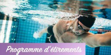 Etirements pour natation