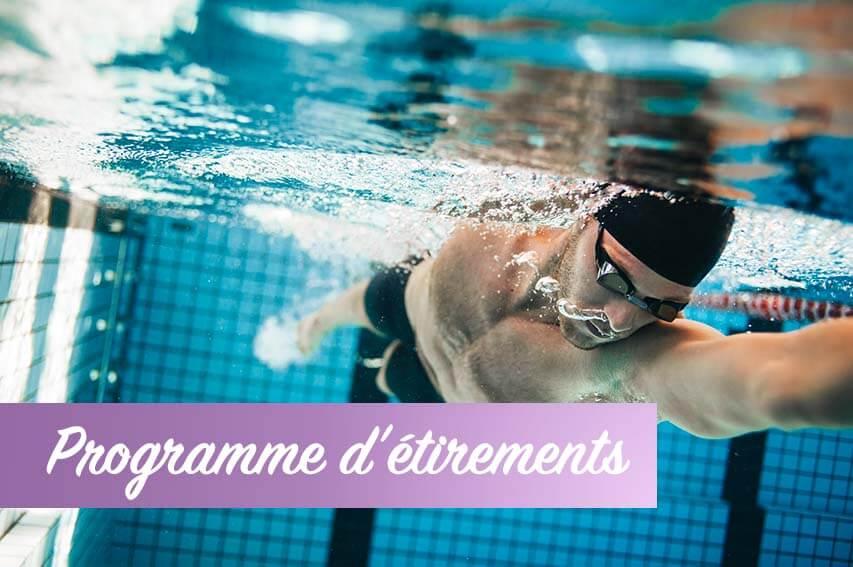 Exercices pratiques natation