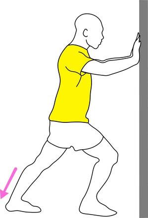 Etirement mollet syndrome des jambes sans repos